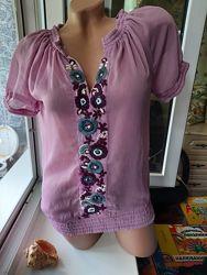 Легкая блузка вышиванка