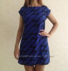 Темно-синее платье New Look
