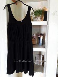 Шикарное короткое черное платье H&M
