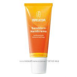 Кремы для рук Weleda и Eco cosmetics из Германии