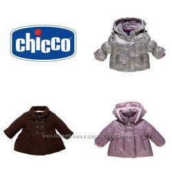 Куртка пальто chicco р. 50 реально на 3 -6 мес оригинал италия чико