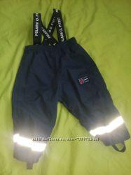 Polarn O. Pyret полукомбинезон брюки 74см