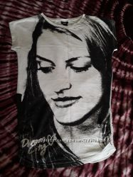 H&M 34-36eur футболка туника