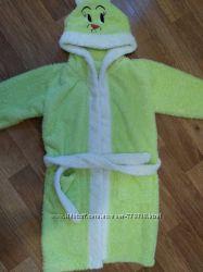 Махровый халат девочке 104-110