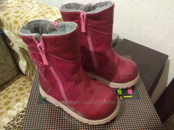Зимние ботиночки для девочки ORTOPEDIA