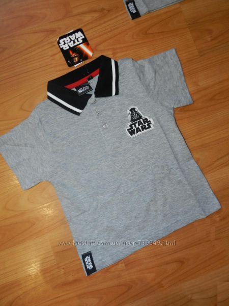 Фирменные футболки поло на мальчиков. От 4 до 8 лет