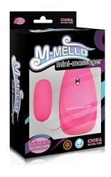 Виброяйцо M-Mello Mini Massager-Pink 291621