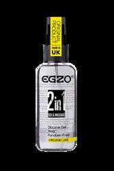 Анальный силиконовый органический лубрикант EGZO HEY 2in1, 50 ml 282102
