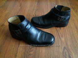 кожаные ботинки Clarks 8. 5р.