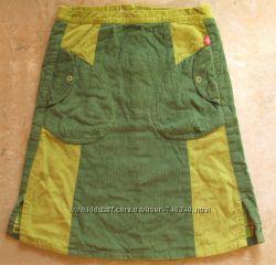Вельветовая стильная юбка Mini Stars на 128 рост