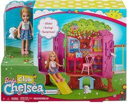 Игровой набор Кукла Барби Челси Дом на дереве Barbie Chelsea Doll