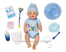 Интерактивный пупс Baby Born Очаровательная малышка девочка и мальчик