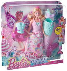 Barbie Dreamtopia Fairytale Dress Up Doll Барби сказочное перевоплощение