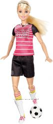 Кукла Барби йога футболистка Barbie made to move безграничные движения