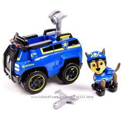 Щенячий патруль Гонщик в шлеме с машинкой - Paw Patrol Chase&acutes Spy Cruiser