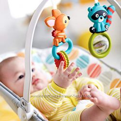 Шезлонг детский кресло качалка Fisher-Price