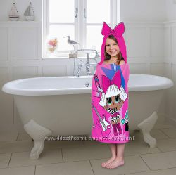 Банное полотенце 60 на 125 L. O. L. Surprise Soft