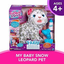 Furreal Snow Leopard Интерактивный снежный леопард снежный барс