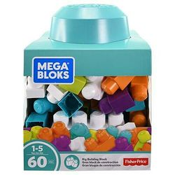 Mega Bloks Конструктор 60 кубиков Первые строители