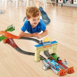 TrackMaster Томас и Перси Железная дорога Большие гонки