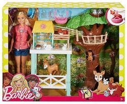 Набор с куклой Барби Центр ухода за животными Barbie Animal Rescue Playset