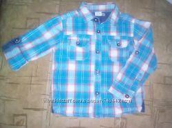 Рубашка для мальчика рукав трансформер