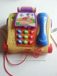 Развивающая игрушка Телефон Посчитай с друзьями Fisher-Price T5258