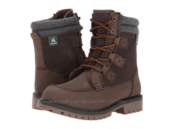 36-37р Классные зимние ботинки Kamik. Минус 30