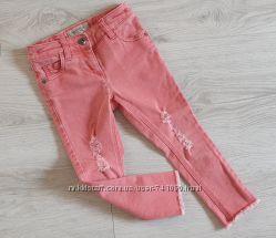 Стильные джинсы Next 3-4 года