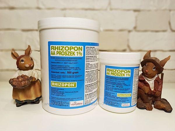 Профессиональный корнеобразователь Rhizopon Ризорон  AA 1 и Корень Супер
