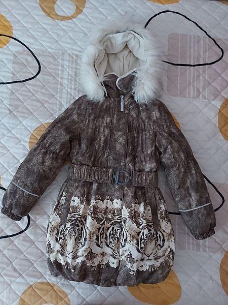 Пальто Lenne Stella Ленне на рост122 см. / 128 см.