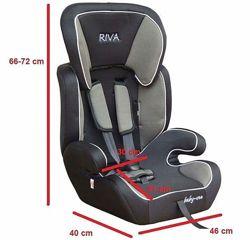 Автокресло бустер Riva 9-36кг