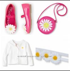 комплект туфельки, кардиган, сумочка и повязка Childrens Place 2т
