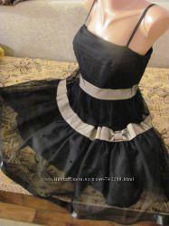 Juicy Couture. Нарядное вечернее платье сарафан на бретелях. Оригинал. Миди