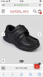 Туфли подростковые Matalan кожа 25 см по стельке 38 р.