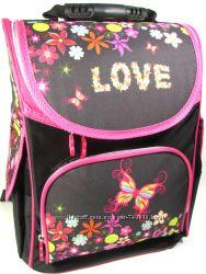 Рюкзак каркасный ортопедический школьный девочки Love