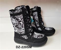 Детская зимняя термо, мембранная обувь BG р. 33-38