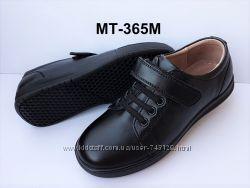 Полностью натуральная кожа школьные туфли