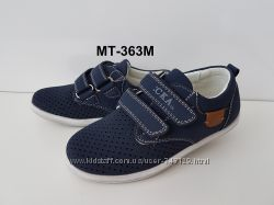 Перфорированные мокасины туфли для мальчиков  р. 26-30