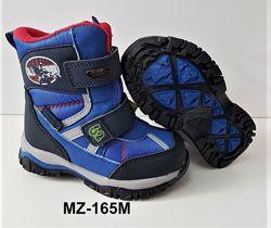 Качественные термо-ботиночки для мальчиков р. 23-30
