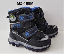Теплые термо-ботиночки для мальчиков рю23-28