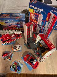 Мега набор Playmobil Пожарная часть 5361, 5364, 6113, 5365, 5362, 5543