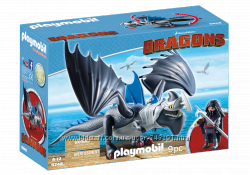 Playmobil 9248 Драго и Гром Как приручить дракона
