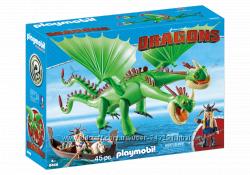 Playmobil 9458 Забияка и Задирака как приручить дракона