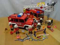 Playmobil 5362  3181 пожарая машина, пожарники. 2 набора