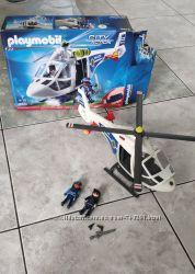 Playmobil 6874 Полицейский Вертолет с LED фонариком