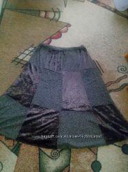 Красивая макси юбка для красивой девушки шикарного размера ботал
