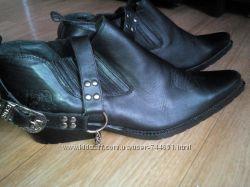 Мужские ботинки  ковбойские Америка