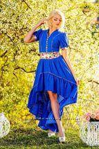 платье прошва бренд Медини 46-48р хлопок 100