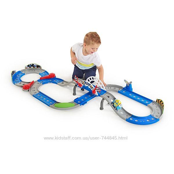 Трек для малышей Bright Starts Ford Full Speed Raceway Go Grippers Pla